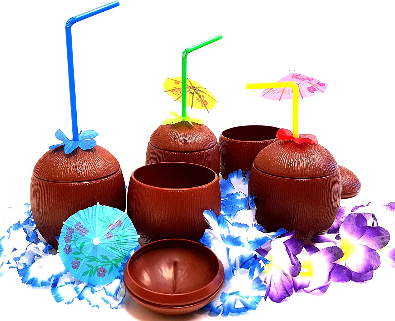 Coconut Cups, Tiki Bar Coconut Cups, by Dondor (4)