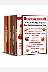 Copycat Recipes Making the Most Popular Recipes from Favorite Restaurants at Home : Cheesecake Factory - Applebee's - PF Chang's - Olive Garden - Red Lobster ... Restaurant Copycat Cookbooks Book 12) Kindle Edition