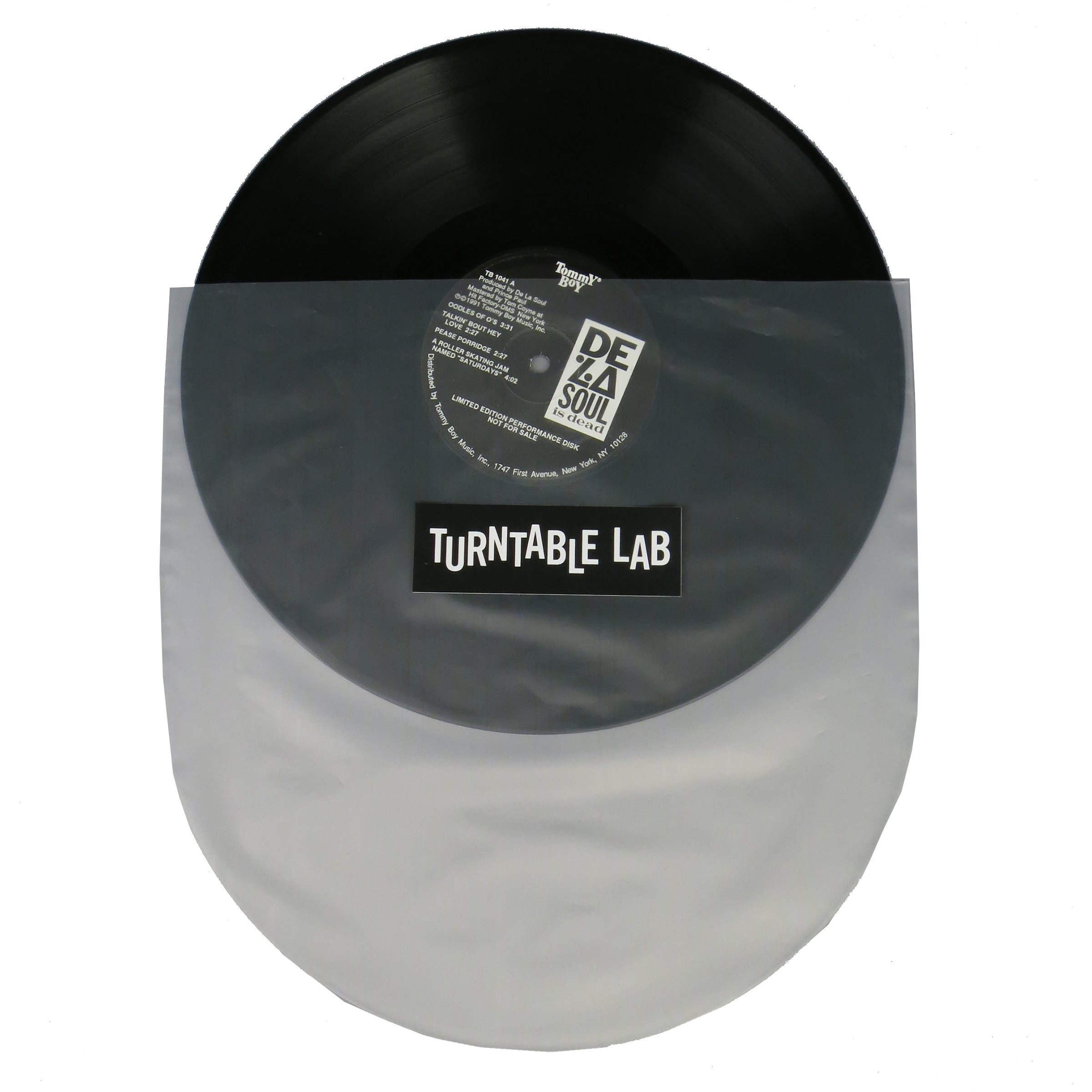 Turntable Lab: Round Bottom LP Sleeve (50 Pack)
