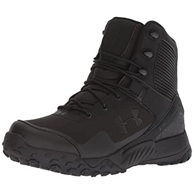 Under Armour Boys' Speedform Slingwrap Military and Tactical Boot, Black (002)/White, 13: Shoes