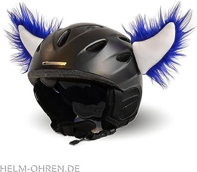Hörnchen //Ohren Teufel Hörner f Helm Skihelm Snowboardhelm Kinderhelm Hellgrün