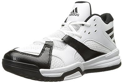 Amazon Adidas Performance Men Step Basketball Shoe Black White 9