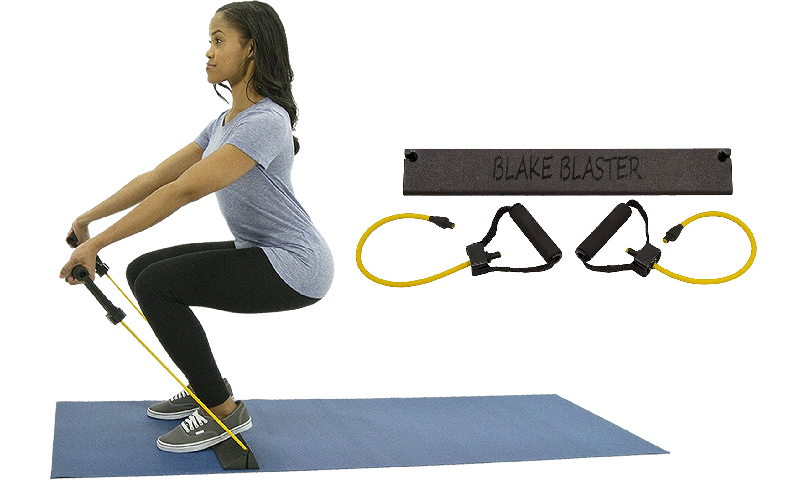 Blake Blaster - Revolutionary Squat Trainer and Portable Full Body Home Gym by Blake Blaster