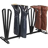 Home Basics Boot Organizer, Space Saving Boot Rack for 4 Pairs of Boots