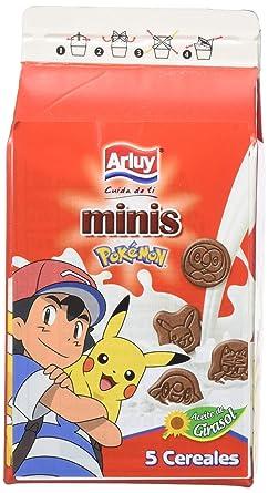 Arluy Galletas Minis Pokémon Choco - Paquete de 12 x 135 gr ...