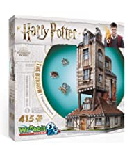 Wrebbit 3D Puzzle Harry Potter -  The Burrow Weasley Family Home 3D Puzzle (415-Piece)