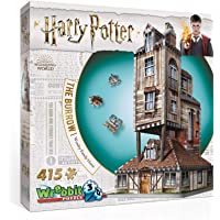 WREBBIT 3D W3D-1011 The Burrow-Weasley Family Home 3D Jigsaw Puzzles (415Piece)