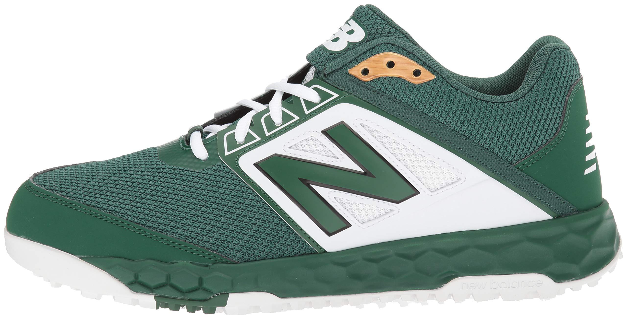New Balance Men's 3000v4 Turf Baseball Shoe, Green/White, 5 D US by New Balance (Image #5)