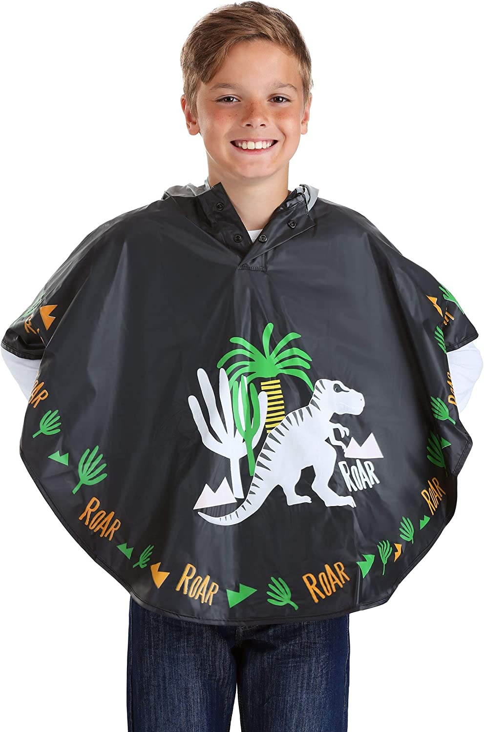 Floss /& Rock Magic Color Change Poncho Girls and Boys Rain Jacket