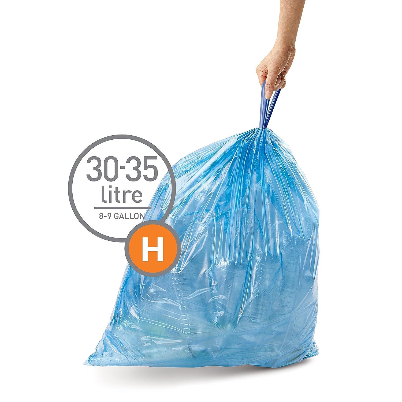 Amazon.com: Simplehuman – Código H Custom Fit Revestimientos ...