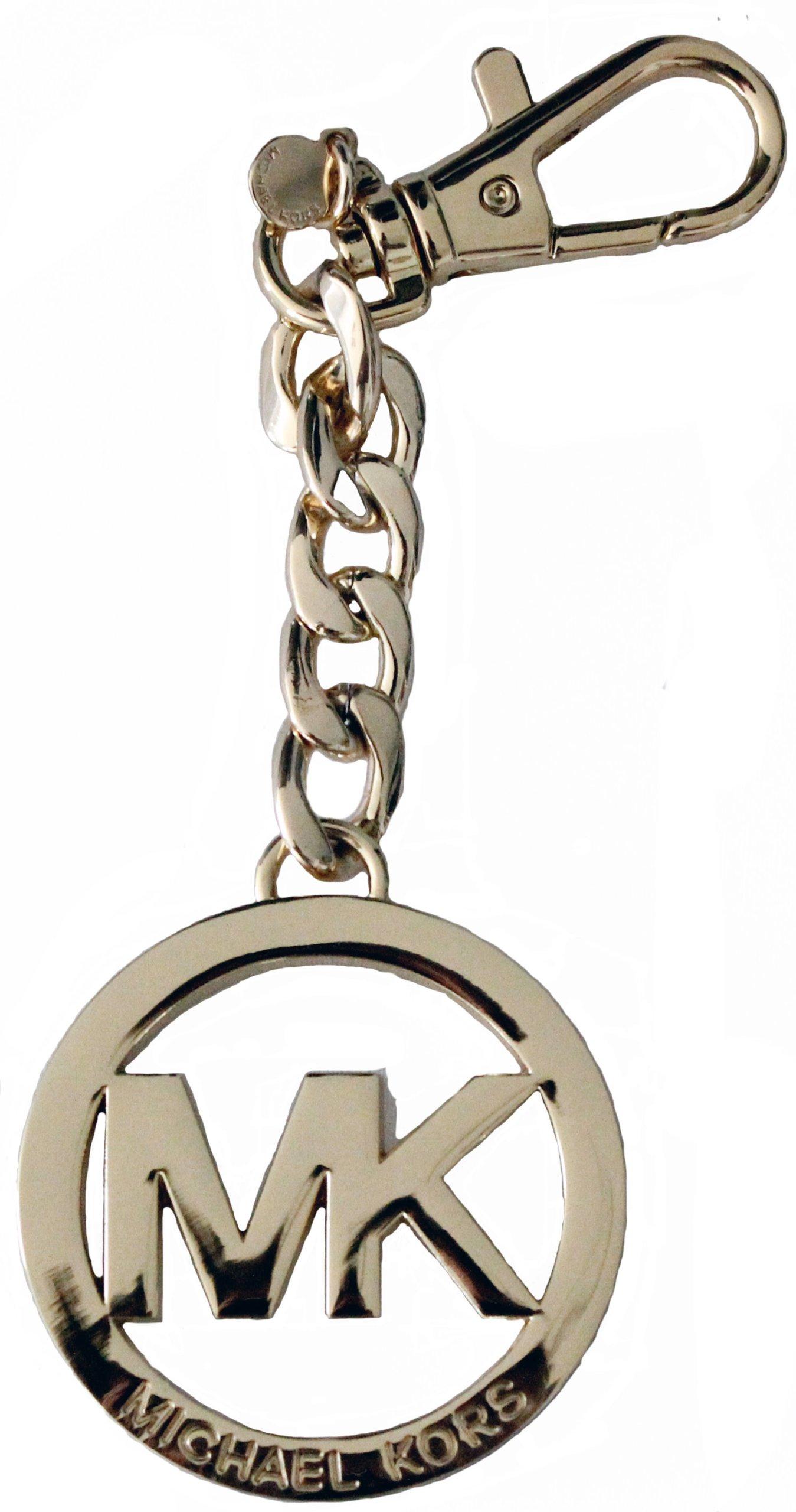 MICHAEL Michael Kors MK Circle Key Fob, Gold