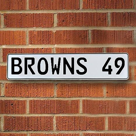 Amazon.com: Vintage Parts 335306 Browns 49 NFL Cleveland Browns ...