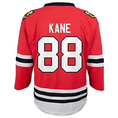 25f7cd8ada4 Amazon.com: Patrick Kane Chicago Blackhawks #88 Red Toddler Home ...