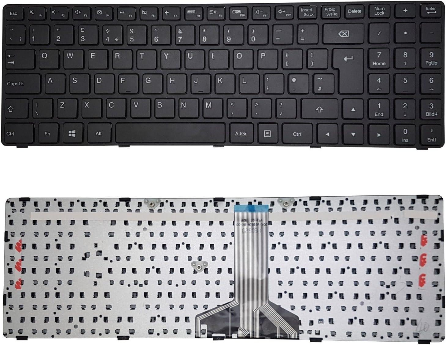 GB Keyboard Black NEW For Lenovo Ideapad 100-15IBD B50-50 Laptop UK
