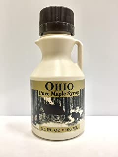 product image for 3.4 Fl. Oz. Grade A, Pure Ohio Maple Syrup (2 Pack)