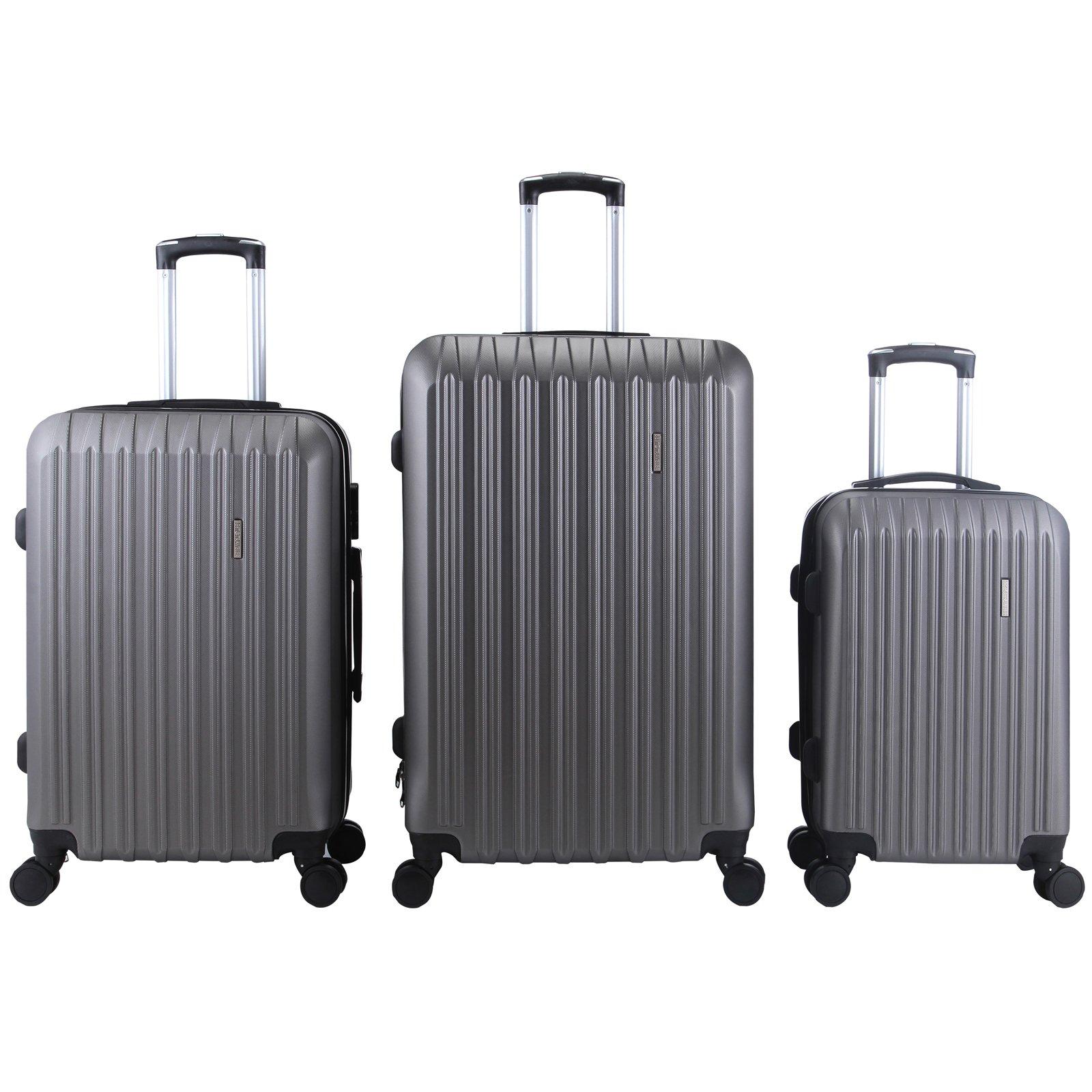 Murtisol 2PCs & 3 PCs & 4 PCs Luggage Set Travel Suitcase set Hardside/Trolley/Spinner/Expandable