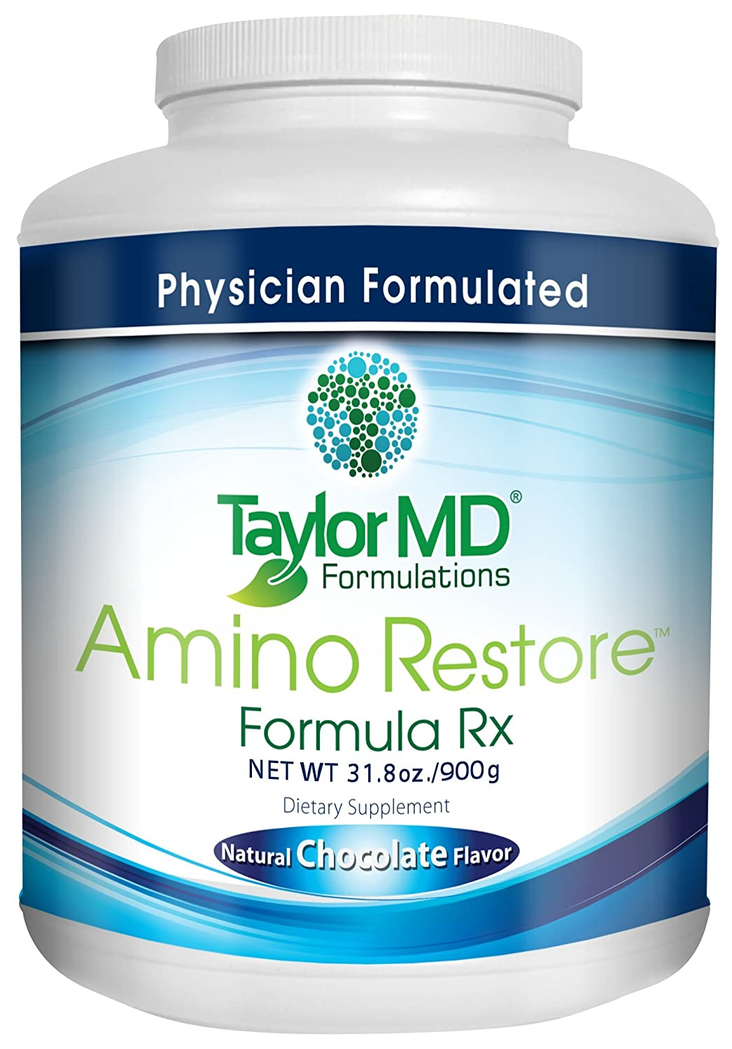AminoRestore – Amino Acid Formula Rx – Chocolate Flavor – Essential Workout, Weight Loss Provides Nutrients, Vitamins, Minerals Optimise Metabolism, Energy, Body Composition Gut Health Suitable for Vegetarians Dairy Free – Guaranteed By Taylor MD Formulations