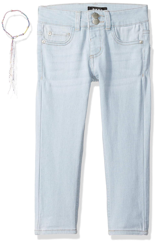 DKNY Girls Big Double Stacked Waist Denim Jean