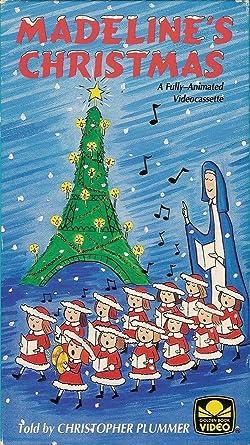 Amazon.com: Madeline's Christmas [VHS]: Christopher Plummer ...