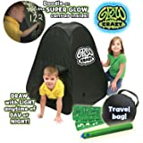 Glow Crazy - Doodle Dome, Draw on Super Glow Canvas with Lightwand