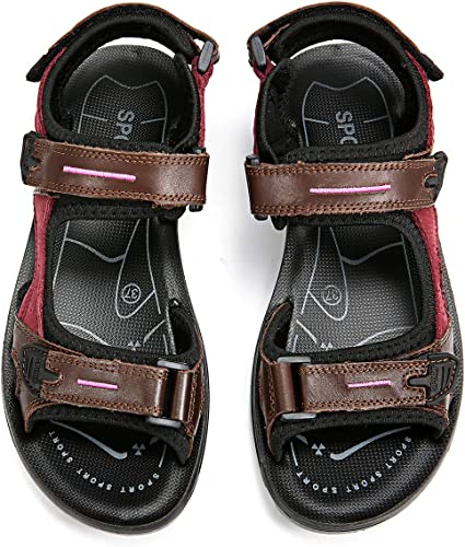 gracosy Womens Sandals Open Toe Sports Trekking Sandals Summer Beach  Walking Shoes Flat Sandals Outdoor Athletic Hiking Anti Slip Sandals Soft  Cushion Insole Lightweight Thongs Casual Shoes Adjustable: Amazon.co.uk:  Shoes & Bags