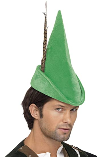 f45347a6fc8 Amazon.com  Smiffy s Robin Hood Hat  Clothing