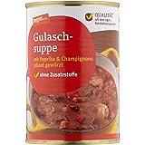 Tegut Gulaschsuppe mit Paprika und Champingnons, 400 g