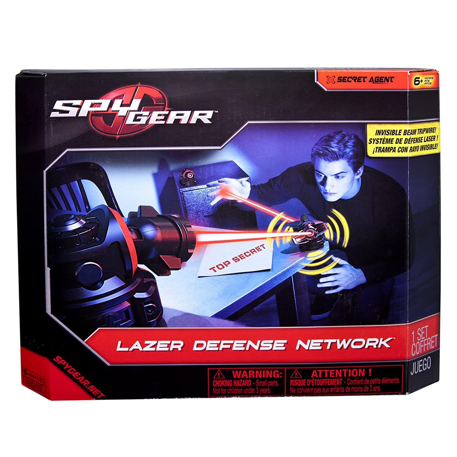 Spy Gear Lazer Defense Network Master Carton assortment Amazon
