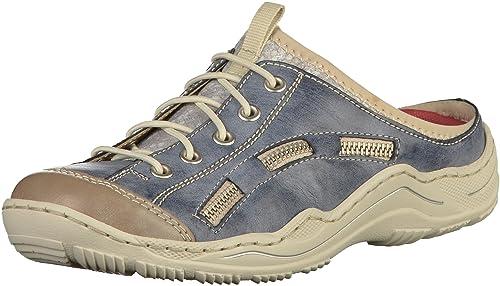 huge sale timeless design classic styles Rieker Damen-Pantolette Blau (5), Gr. 43: Amazon.ca: Shoes ...
