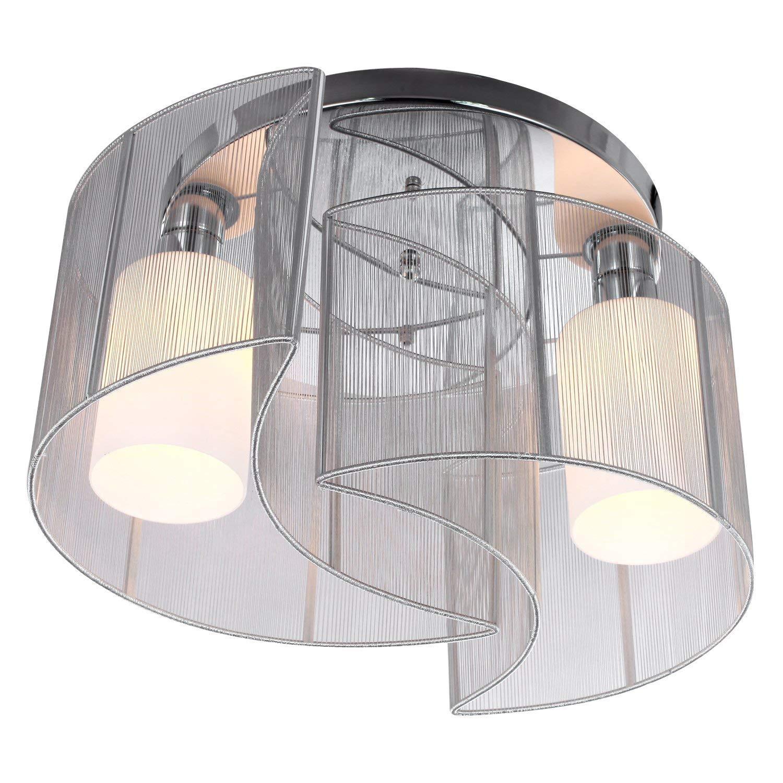 FAJZF Modernes Design Mini Style Style Style Flush Mount Deckenleuchte mit Flush Metal Finish Kronleuchter für Flur, Esszimmer für Wohnzimmer Küchenflur Weiß c1a762