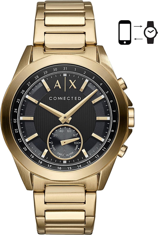 Armani Exchange Smartwatch Híbrido para Hombre de Connected