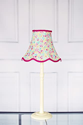 Pink green and lemon hand stitched lampshade amazon handmade pink green and lemon hand stitched lampshade mozeypictures Image collections