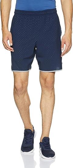 Under Armour Mens Raid Novelty Sports Gym Training Active Shorts Bottoms Blue