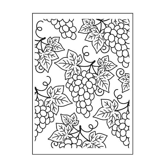 Darice Embossing Folder Grape Clusters