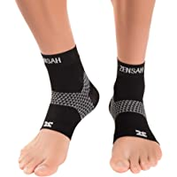 Zensah Plantar Fasciitis Sleeve - Relieve Heel Pain, Arch Support, Reduce Swelling - Compression Foot Sleeve, Plantar…
