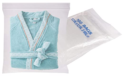 Amazon.com: Paquete de 100 bolsas de polietileno ...