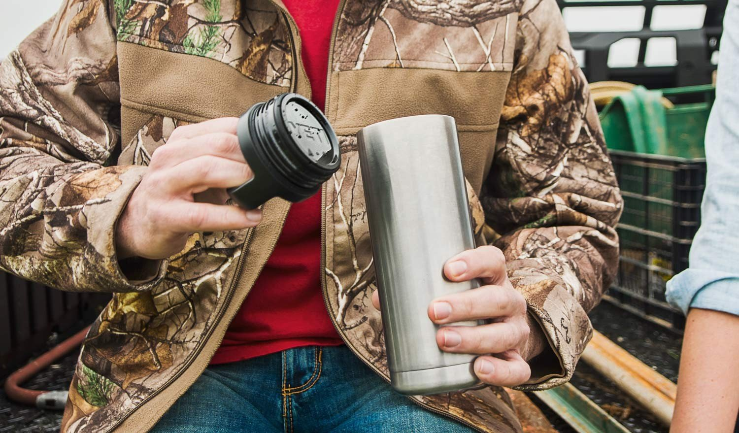 YETI Rambler 18 oz Stainless Steel Vacuum Insulated Bottle with Cap by YETI (Image #6)