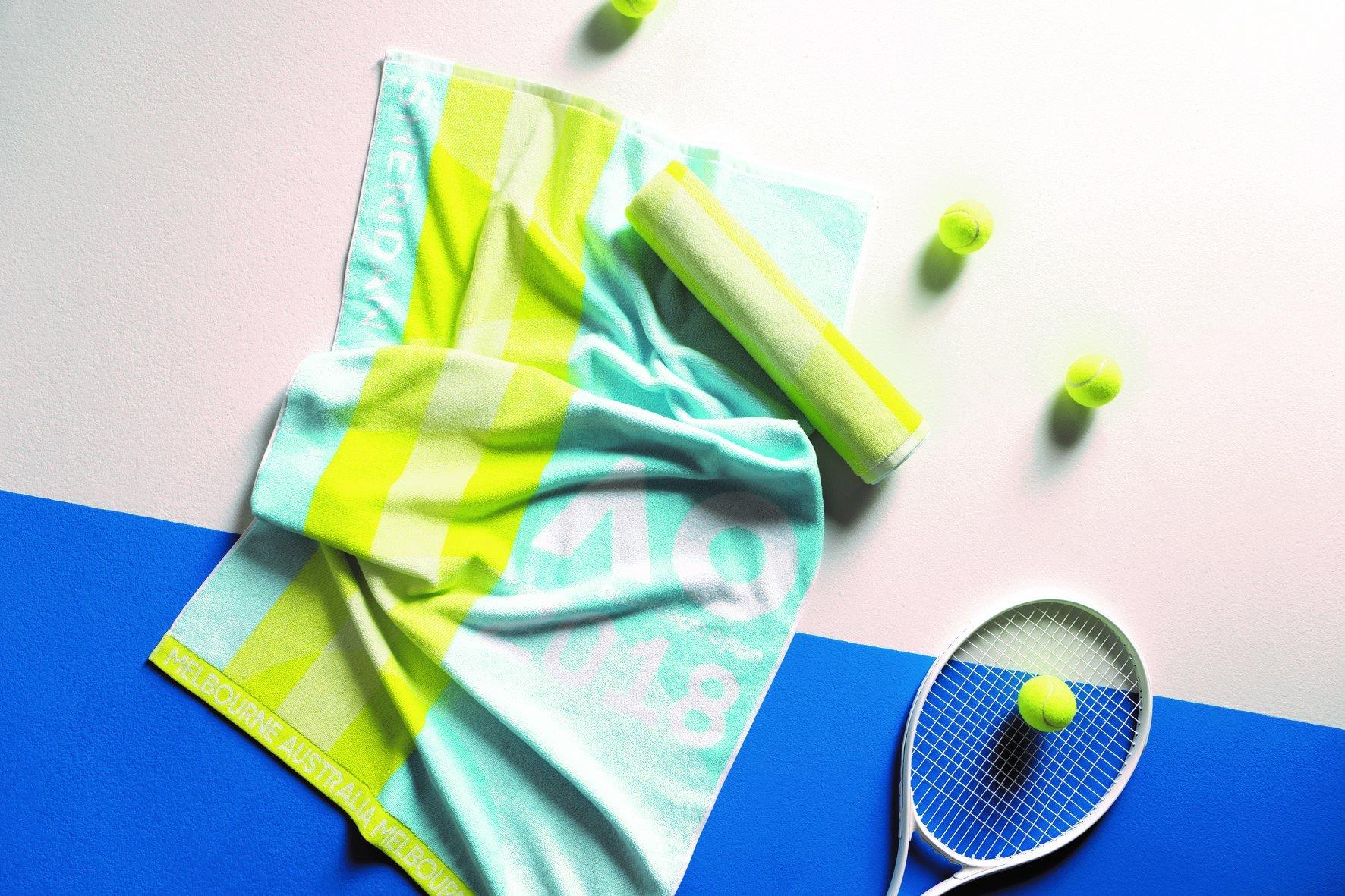 Australian Open 2018 Ladies on Court Player Towel New!! 2018
