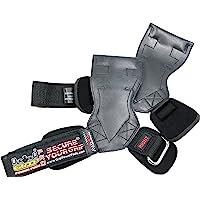 Lifting Grips PRO Weight Versa Gloves Heavy Duty Straps Alternative to Power Hooks Deadlifts Adjustable Neoprene Padded Wrist Wrap