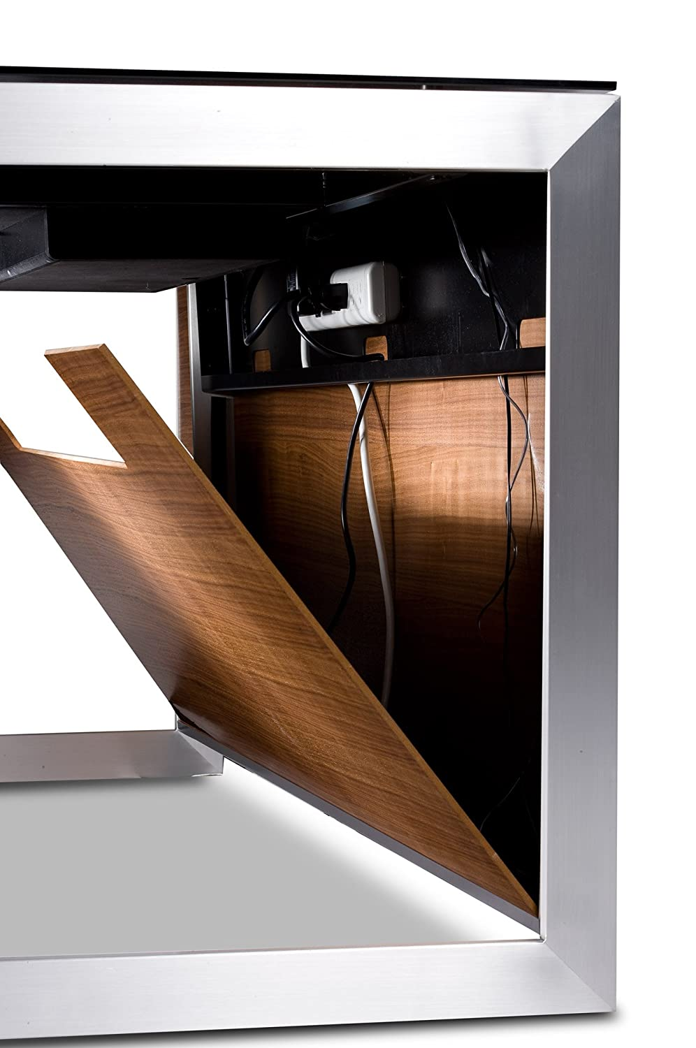 schreiter executive s products bdi stained in sequel desk web oak espresso