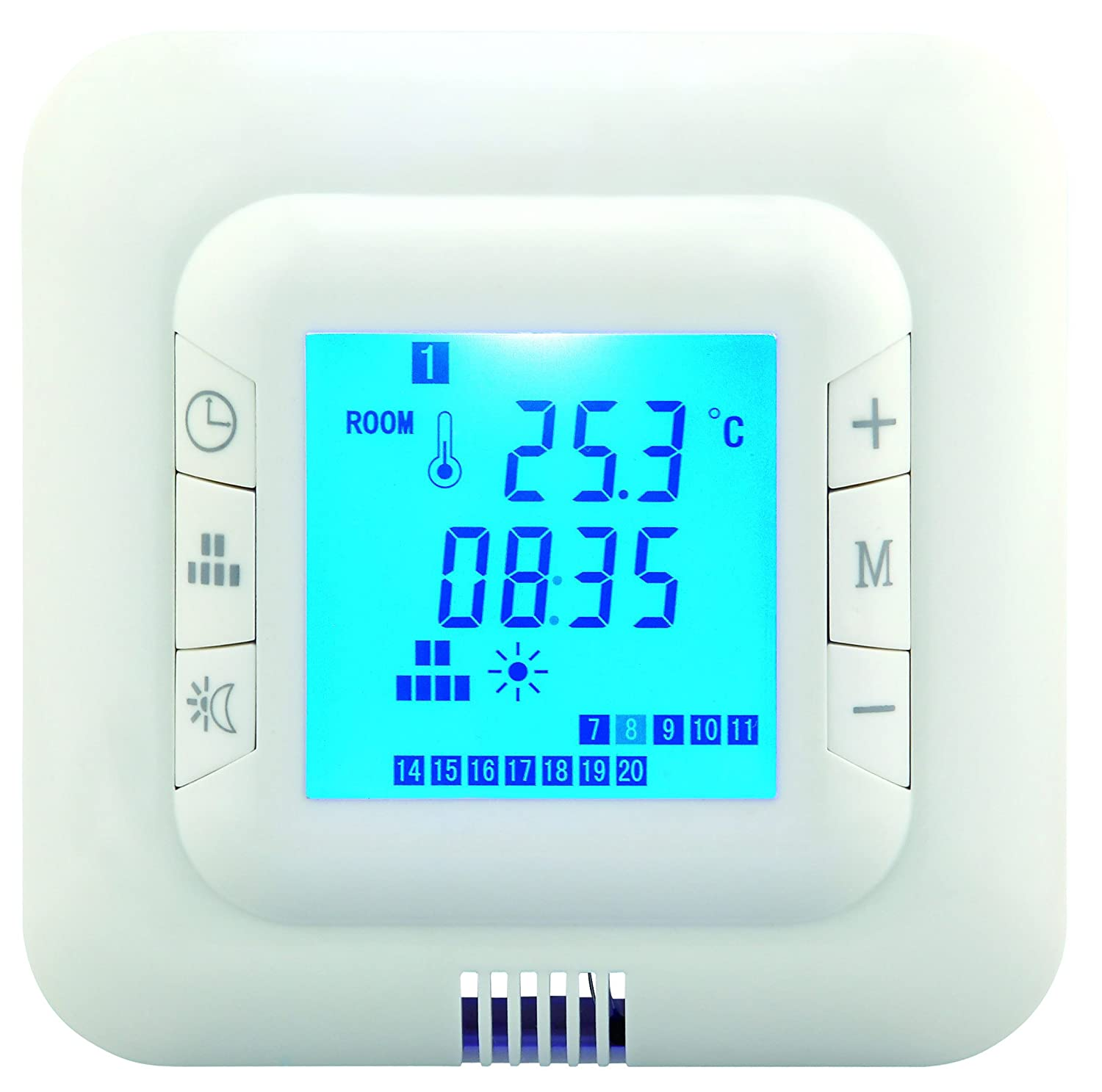 digital underfloor heating thermostat suitable for almost allWickes Underfloor Heating Wiring Diagram #19
