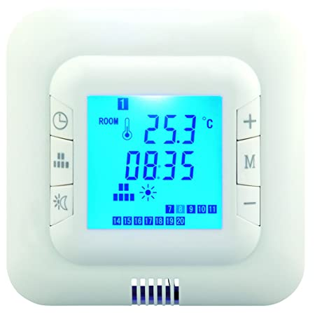 Digital underfloor heating thermostat suitable for almost all digital underfloor heating thermostat suitable for almost all electric heating systems includes floor asfbconference2016 Images