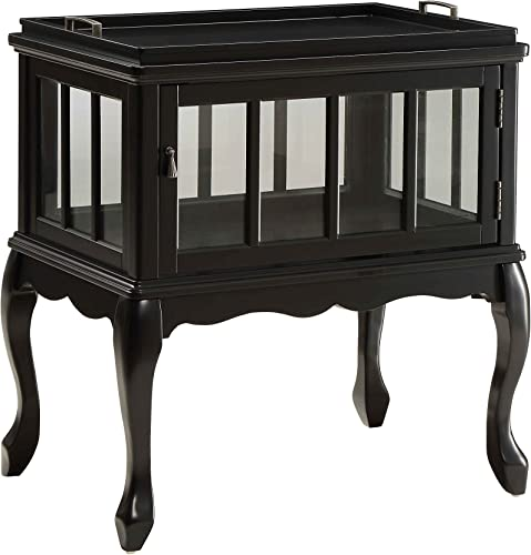 ACME Fidelia Black Console Table