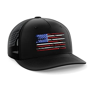 0b758393f43 Tactical Pro Supply USA American Flag Snapback Hat  Amazon.co.uk ...