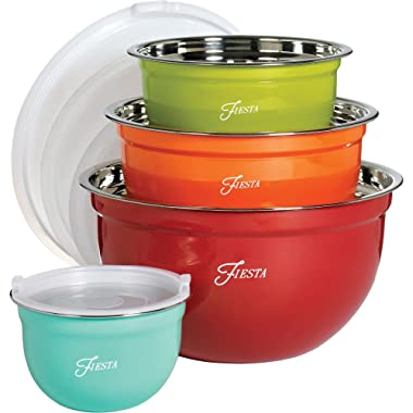 Fiesta Nested 8-pc. Bowl Set