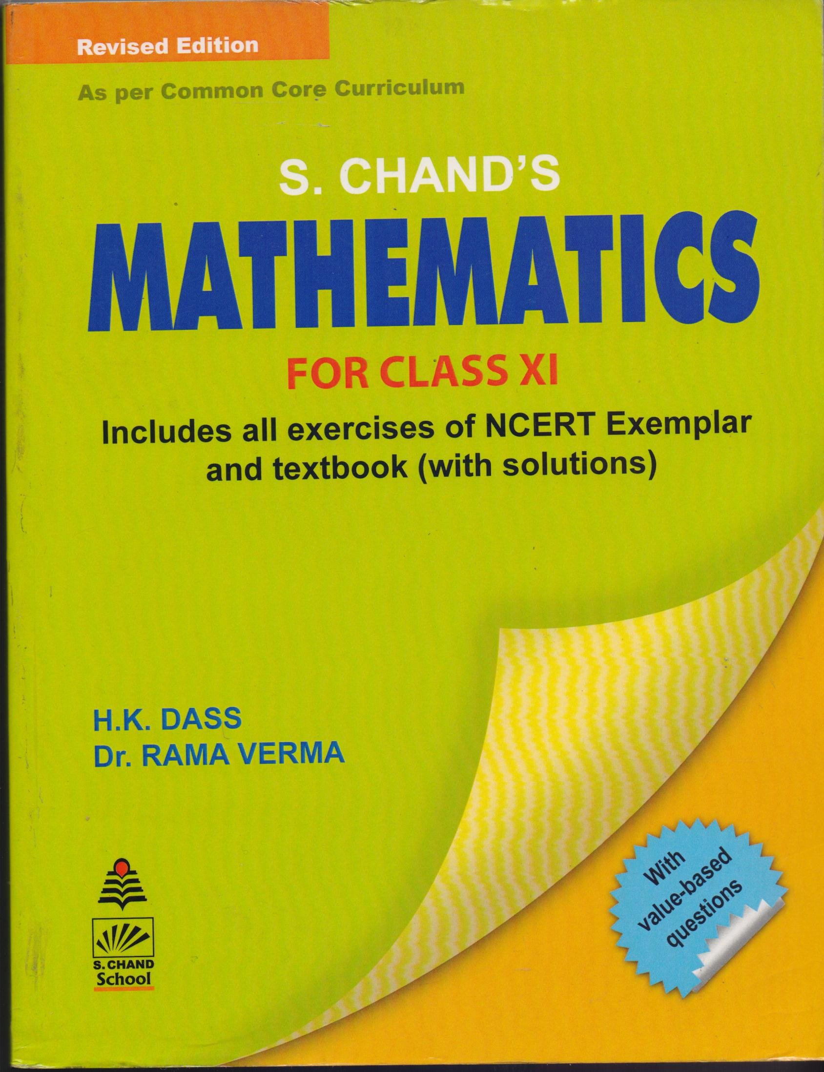 s chand s mathematics for class xi old edition amazon in h k