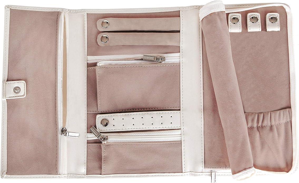 CASE ELEGANCE Estuche para Joyería de Cuero Vegano - Organizador de Joyería Pequeño Color Rosa: Amazon.es: Joyería
