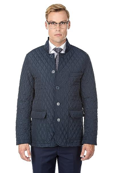 Amazon.com: braveman de los hombres qc22 Quilted Blazer ...