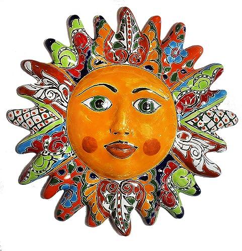 Talavera Sun Face