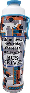 product image for Bus Driver Water Bottle - BPA-Free Reusable Bottle - Chug Cap & Carry Loop - Great Gift for Bus Drivers, Appreciation, Thank You, Christmas Gifts, End of School Thanks (Safe Ride, 30 oz.)